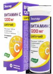 Витамин C, табл. шип. 1200 мг 3.8 г №20