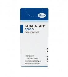 Ксалатан, капли глазн. 0.005% 2.5 мл №1
