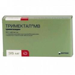 Тримектал МВ, табл. с модиф. высвоб. п/о пленочной 35 мг №60